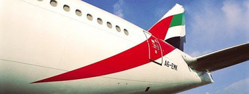 EK is serving HAM double daily by operating Boeing 777s - Source: EK