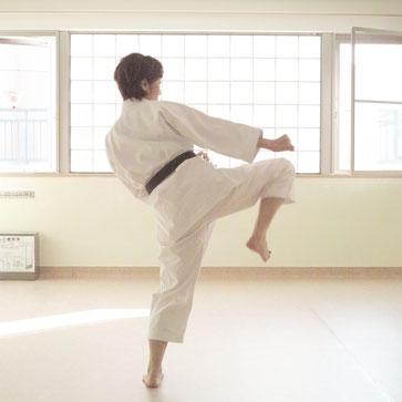 空手ストレッチ 今井敦子 karate stretch imai atsuko lesson2