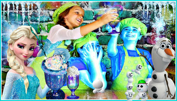 easy recipes for kids, wild adventure girls, disney frozen milkshake, recipe for kids