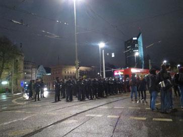 Leipzig an einem Montag, leider ein austauschbares Bild