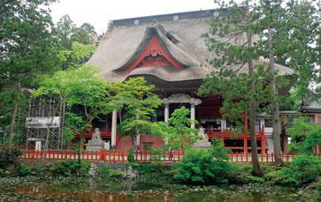 出羽三山 三神合祭殿(山形県)