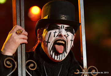 Würdiger Headliner: KING DIAMOND.