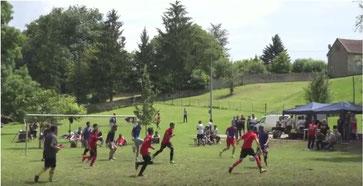 A Baulne-en-Brie, le tournoi de football est né le 14 juillet 2016.