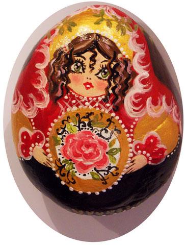 #matrjoschka #matroschkapuppe #paintedrock #paintedstone #talisman #bemalterstein #portraitstein #matroschka