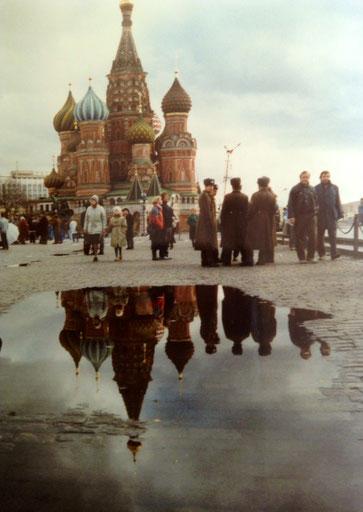 Foto: Bild: Moskau Roter Platz 1990 Lissy Gröner MEP