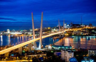 Vladivostok-Russky Island Bridge