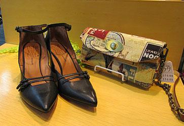 靴 INDIVIDUAL バッグ Saponetta