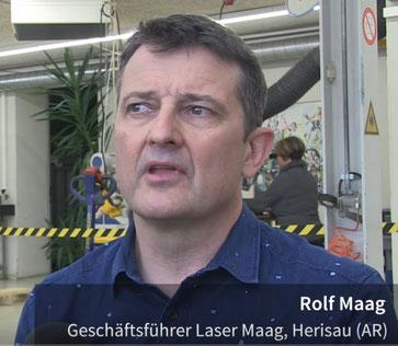 Laser Maag Herisau Präzisions Laser Schweissen - Rolf Maag Geschäftsführer