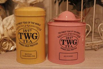 紅茶の缶もとてもかわいいですね