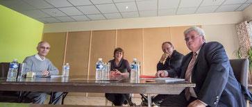 Mme Agier, Mrs Girardot, Bigot, Mayet. M Bouery excusé était à une réunion de formation sur la même thématique.