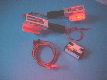 Set Hauptfahrwerk mit Kabelsatz und Controller