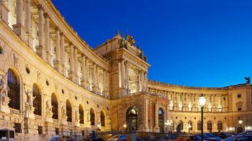 Foto der Hofburg in Wien
