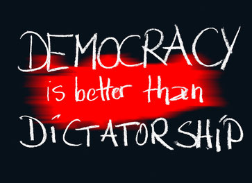 Democracy is better than Dictatorship
