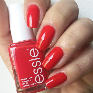 swatch essie too too hot by LackTraviata