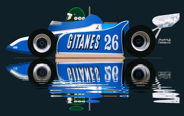 Jacques Laffite by Muneta & Cerracín