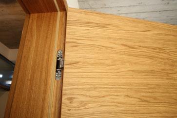 Tectus- Bänder sind bei geschlossener Tür unsichtbar