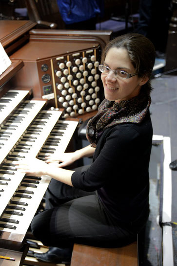 Gabrielle Tessier orgue St. James United Montréal