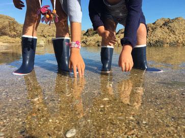 Rouchette, CAP Enfant, les bottes maritimes pour les enfants