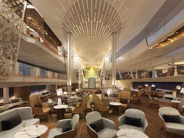 The Grand Plaza // © Press Center Celebrity Cruises