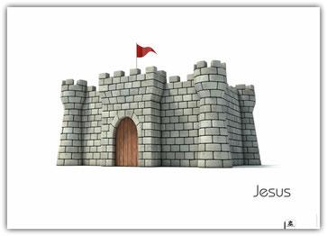 Plakat Jesus Burg