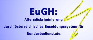 Der Europäische Gerichtshof hat wie erwartet die österreichische Vordienstzeitenregelung (Vorrückungsstichtag) erneut gekippt  Bild:spagra