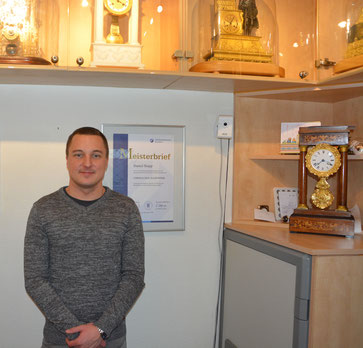Uhrmachermeister Daniel Stupp