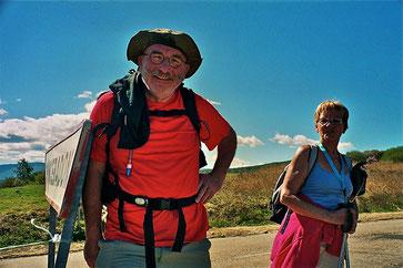 Womotravel Jakobsweg 2010: entlang der Pyrenäen im Süden und im Norden