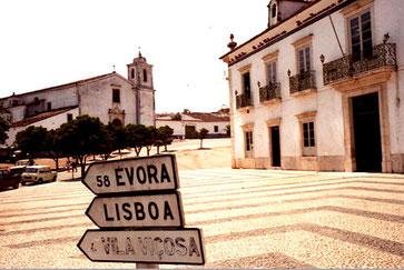 Rad MADRID - LISSABON 1984: Madrid - Toledo - Badajoz - Evora - Lissabon
