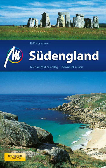 Am grünen Rand der Welt - Gewinnspiel - Michael Müller Verlag - Südengland - Buch - Reiseführer - kulturmaterial