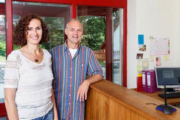 Elke Bretz und Stephan Barkentin in der Praxsis Barkentin, Buchholz