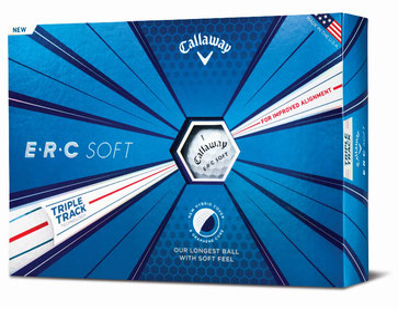 Golfbälle bedrucken, Callaway ERC Soft, Callway Golfbälle bedrucken, Callway mit Logo, Bedruckte Golfbälle, Logo Golfbälle