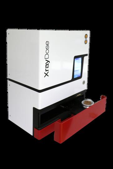 irradiation of food samples for EN1788