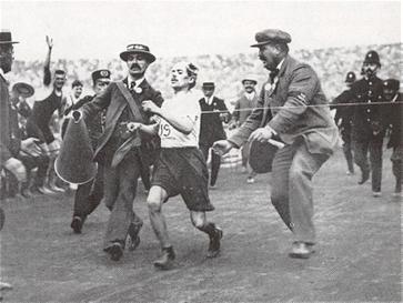 Pietro Dorando, London Olympiade 1908