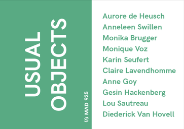 usual objects - contemporary jewelry - design - Anne Goy