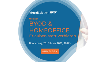 Webinar Invitation: BYOD im Homeoffice