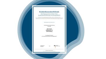 ISEC7 ist gemäß Krankenhauszukunftsgesetz (KHZG) offiziell berechtigter IT-Dienstleister vom Bundesamt für Soziale Sicherung