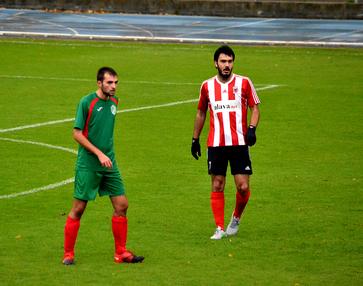 Jon Peral es el máximo goleador del Laudio hasta la fecha con 5 tantos.