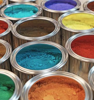 Pigmente in Dosen