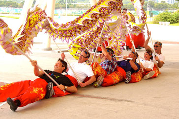 Dragon Dancing Team Building