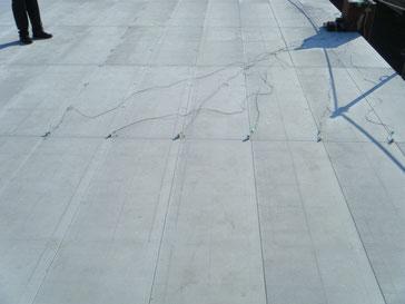 (2階)床面に加速度計を設置