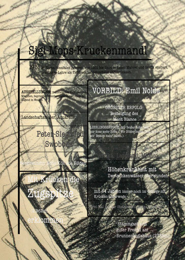Sigi, Mops, Kruckenmandl, Mandl, Krücken, infografik, Zeichnung,