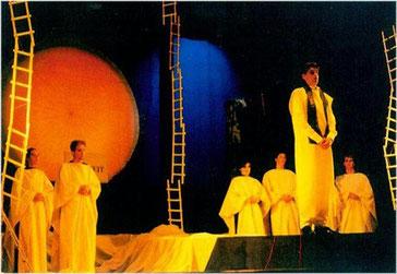 Die Zauberflöte mit der Jungen Kammeroper Köln anlässlich der Erkelenzer Musiktage Hohenbusch 1999