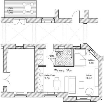 Wohnung Single