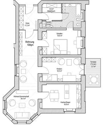 Wohnung Familie Klein
