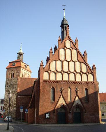 Zentrum von Luckenwalde
