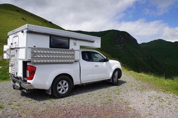 Reisemobil Explorer ganzjahrestauglich Sandkorn-Leichtbau