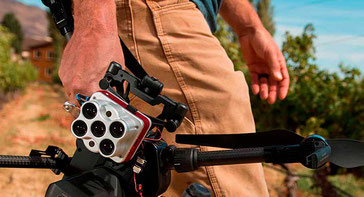 Drones con cámaras multiespectrales para monitorear el estado de salud de su cultivo, prevenga daños, contáctenos ahora