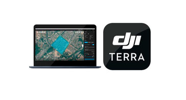 DJI Terra software de procesamiento de imágenes para agricultura y catografía, mapeo con drones DJI