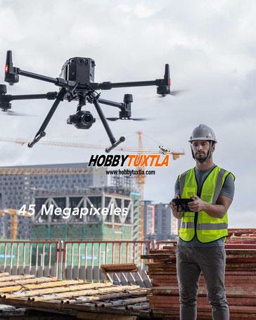 Zenmuse P1 es una cámara de 45 megapixeles para fotogrametría, topografía con drones Matrice 300 RTK