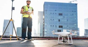 Drones para fotogrametría para crear ortomosaicos e información centimétrica en construcciones, contáctenos ahora